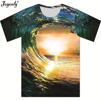 as picture show 1 / 4T JOYONLY Waves T Shirt  -  Cheap Surf Gear
