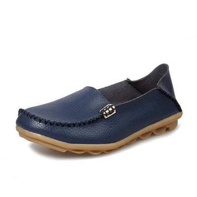 Navy Blue / 8.5 JUIDFEAR Womens Deck Shoes  -  Cheap Surf Gear