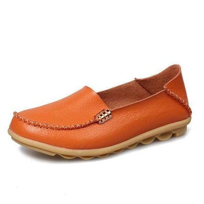 Orange / 8.5 JUIDFEAR Womens Deck Shoes  -  Cheap Surf Gear