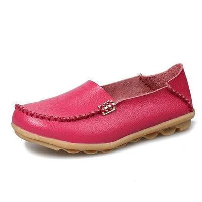 Rosy Red / 8.5 JUIDFEAR Womens Deck Shoes  -  Cheap Surf Gear