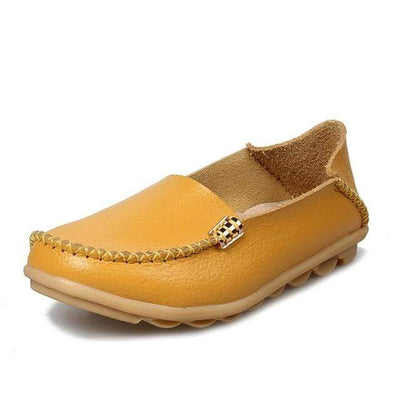 Yellow / 8.5 JUIDFEAR Womens Deck Shoes  -  Cheap Surf Gear