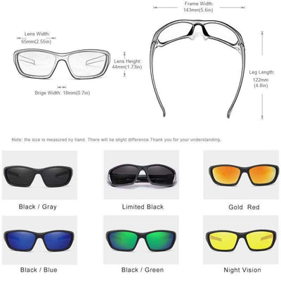 KINGSEVEN Dark Polarized Sunglasses  -  Cheap Surf Gear