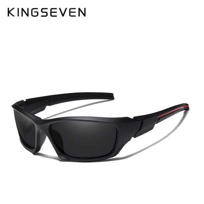 Black / China KINGSEVEN Dark Polarized Sunglasses  -  Cheap Surf Gear