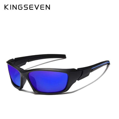 Blue / China KINGSEVEN Dark Polarized Sunglasses  -  Cheap Surf Gear