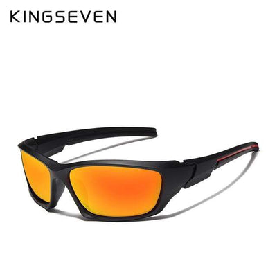 Gold Red / China KINGSEVEN Dark Polarized Sunglasses  -  Cheap Surf Gear