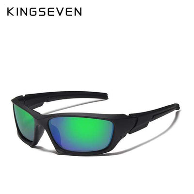 Green / China KINGSEVEN Dark Polarized Sunglasses  -  Cheap Surf Gear