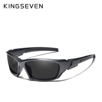 Limited Black / China KINGSEVEN Dark Polarized Sunglasses  -  Cheap Surf Gear