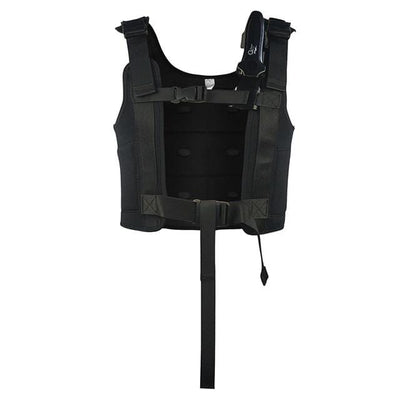 Black / XL LAYASTONE 2mm Neoprene Wetsuit Vest  -  Cheap Surf Gear