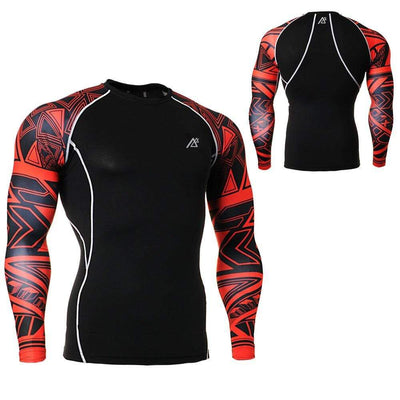 LIFE ON TRACK Mens Rash Guard  -  Cheap Surf Gear