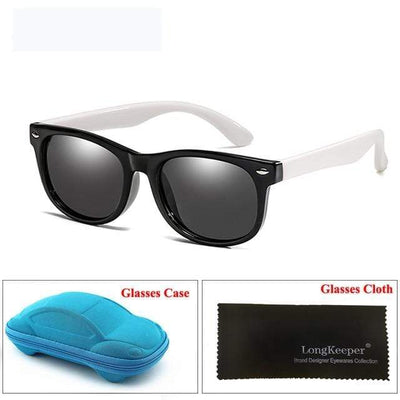 Black White LONG KEEPER Baby Sunglasses  -  Cheap Surf Gear