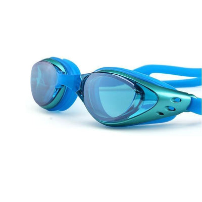 Green LOYOL Prescripion Swim Goggles  -  Cheap Surf Gear