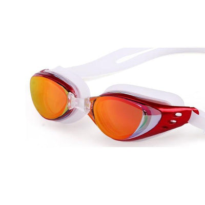 Red LOYOL Prescripion Swim Goggles  -  Cheap Surf Gear