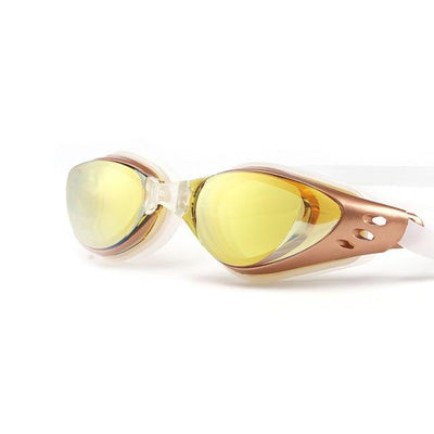 Yellow LOYOL Prescripion Swim Goggles  -  Cheap Surf Gear
