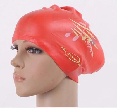 Red Music / One Size LOYOL Womens Swim Cap  -  Cheap Surf Gear