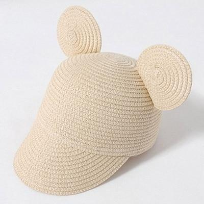Beige MAERSHEI Kids Straw Hat  -  Cheap Surf Gear