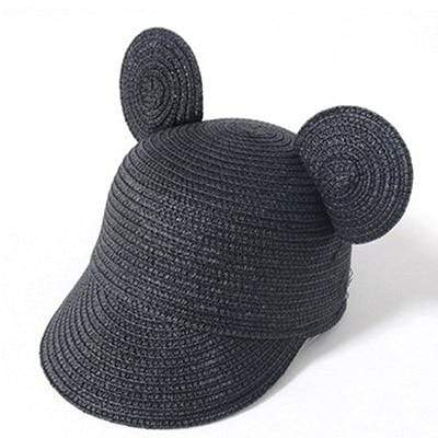 Black MAERSHEI Kids Straw Hat  -  Cheap Surf Gear