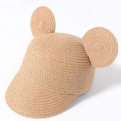 Khaki MAERSHEI Kids Straw Hat  -  Cheap Surf Gear