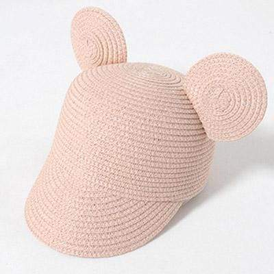 Pink MAERSHEI Kids Straw Hat  -  Cheap Surf Gear