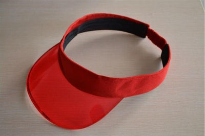 red / adjustable MBAAEUT Sun Visor Hat  -  Cheap Surf Gear