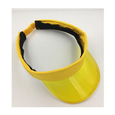 yellow / adjustable MBAAEUT Sun Visor Hat  -  Cheap Surf Gear