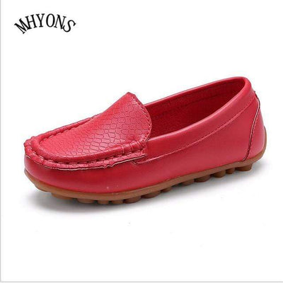Red / 5.5 MHYONS Boat Shoes For Kids  -  Cheap Surf Gear