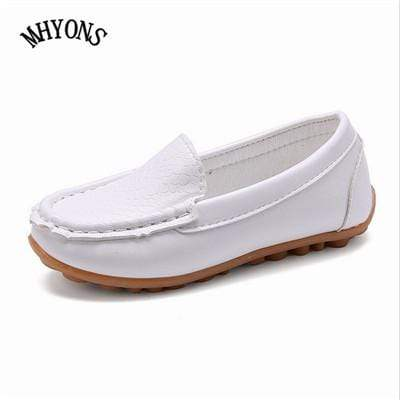 White / 5.5 MHYONS Boat Shoes For Kids  -  Cheap Surf Gear