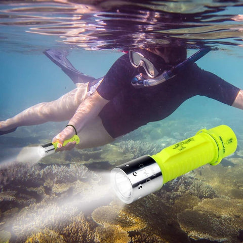 MIXXAR Diving Flashlight