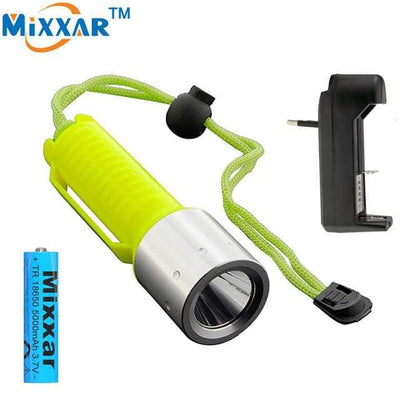 B / China MIXXAR Diving Flashlight  -  Cheap Surf Gear