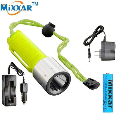 C / China MIXXAR Diving Flashlight  -  Cheap Surf Gear