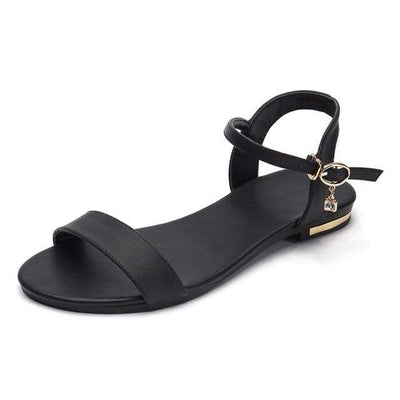 Black / 3 MORAZORA Womens Flat Sandals  -  Cheap Surf Gear