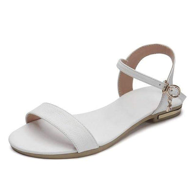 White / 3 MORAZORA Womens Flat Sandals  -  Cheap Surf Gear