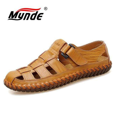 Yellow brown / 7 MYNDE Best Sandals For Men  -  Cheap Surf Gear