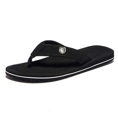 Black / 14 NIDENGBAO Cheap Flip Flops  -  Cheap Surf Gear
