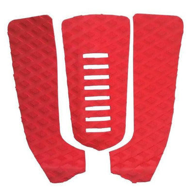 Red OUTDOOR EXPLORER Tail Kick Pad With Beveled Edges  -  Cheap Surf Gear