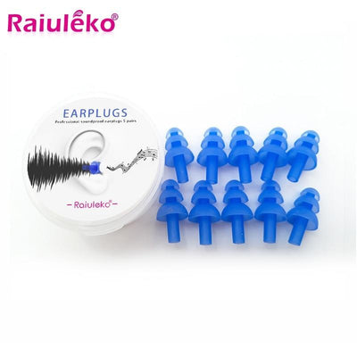 RAIVLEKO Swimming Earplugs  -  Cheap Surf Gear