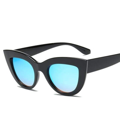 Black Blue RBROVO Beach Sunglasses  -  Cheap Surf Gear