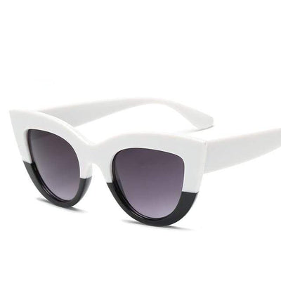 White Black RBROVO Beach Sunglasses  -  Cheap Surf Gear