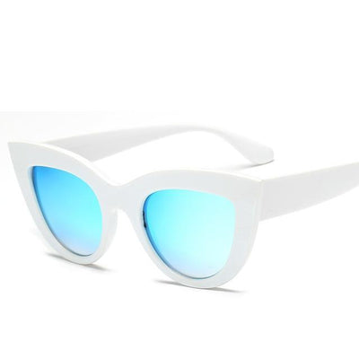 White Blue RBROVO Beach Sunglasses  -  Cheap Surf Gear