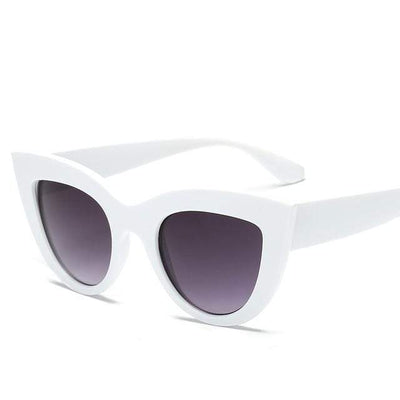 White Double Gray RBROVO Beach Sunglasses  -  Cheap Surf Gear