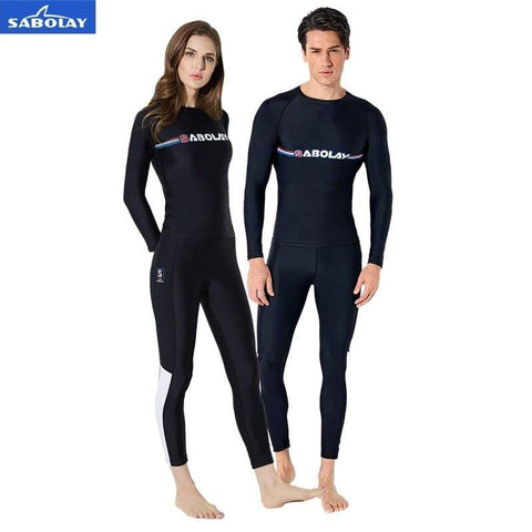 SABOLAY Rash Guard Pants / Shirt Set