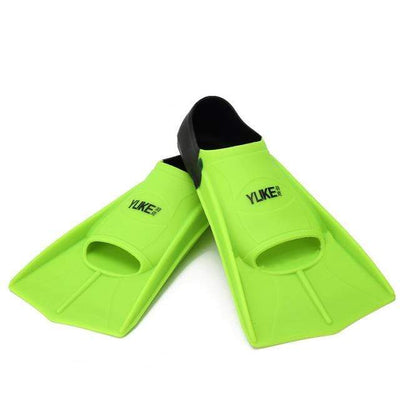 Green / XS SHORT FINS Kids Flippers  -  Cheap Surf Gear