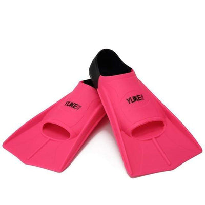 Red-Black / XS SHORT FINS Kids Flippers  -  Cheap Surf Gear