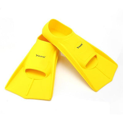 Yellow / XS SHORT FINS Kids Flippers  -  Cheap Surf Gear