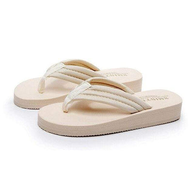beige / 12 SMGSLIB Girls Flip-Flops  -  Cheap Surf Gear