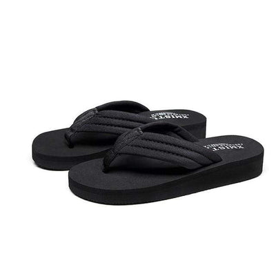 black / 12 SMGSLIB Girls Flip-Flops  -  Cheap Surf Gear
