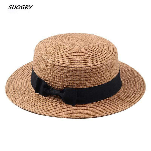 SUOGRY Beach Straw Hat