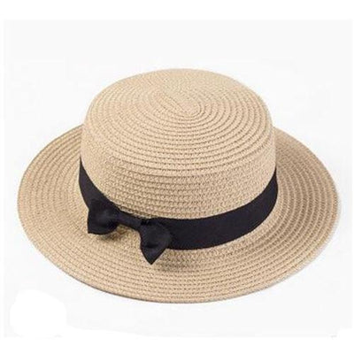 Beige / Adult size SUOGRY Beach Straw Hat  -  Cheap Surf Gear