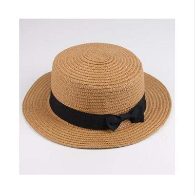 light coffee / Adult size SUOGRY Beach Straw Hat  -  Cheap Surf Gear