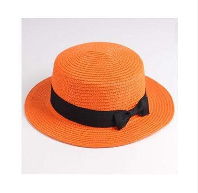 orange / Adult size SUOGRY Beach Straw Hat  -  Cheap Surf Gear