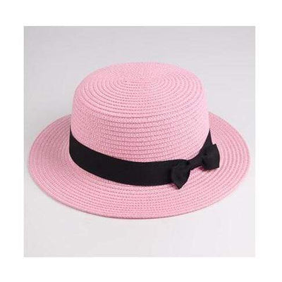 pink red / Adult size SUOGRY Beach Straw Hat  -  Cheap Surf Gear